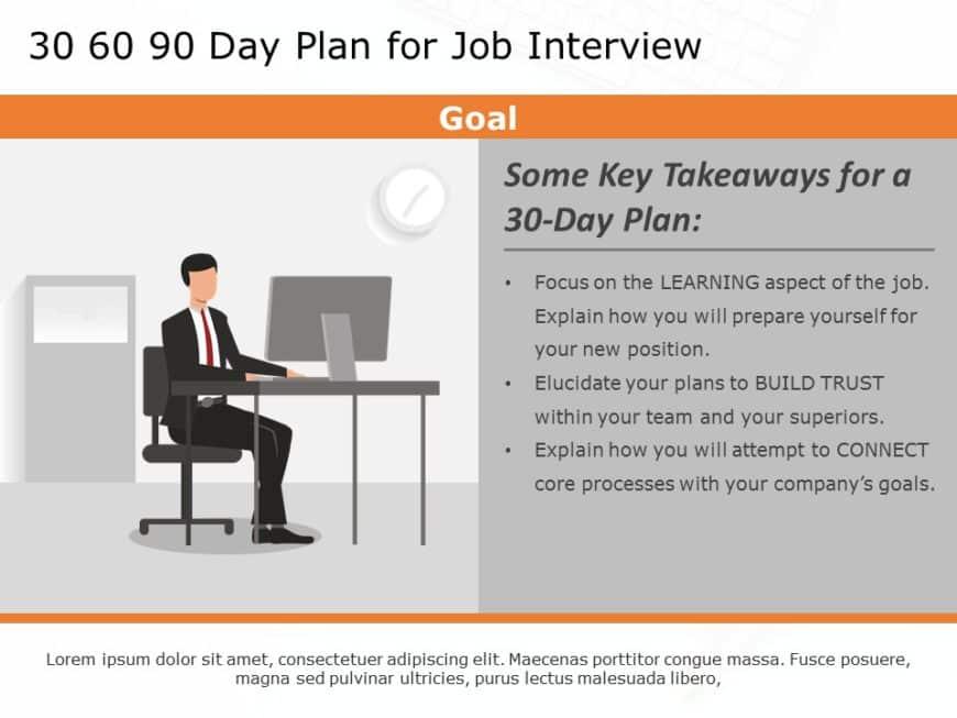 30 60 90 day job plan