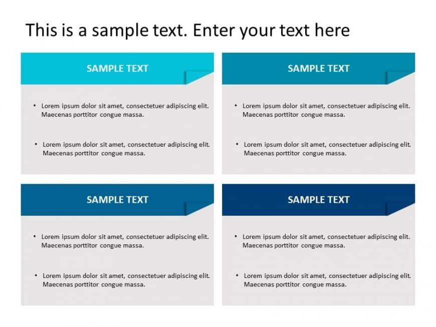 Box List PowerPoint Template 6