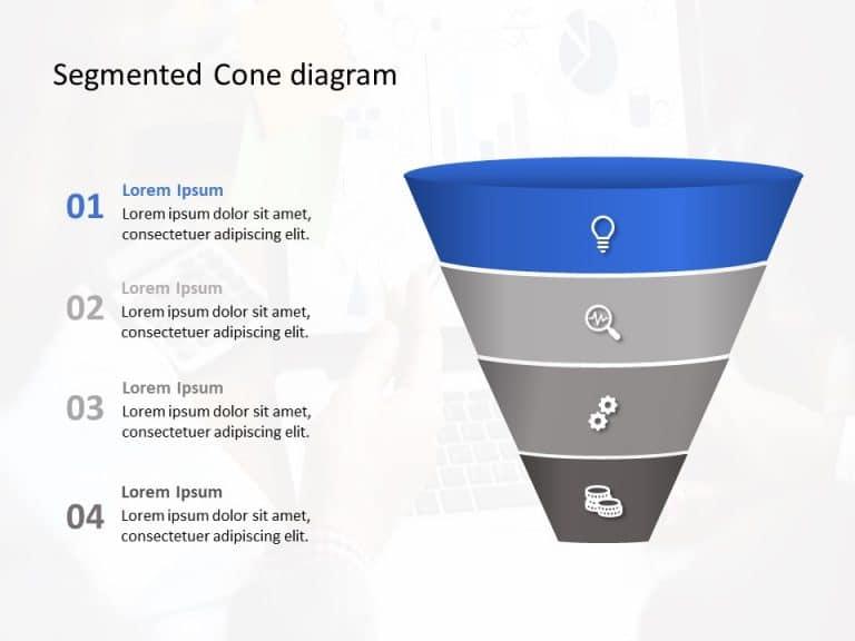 Free Segmented Cone diagram