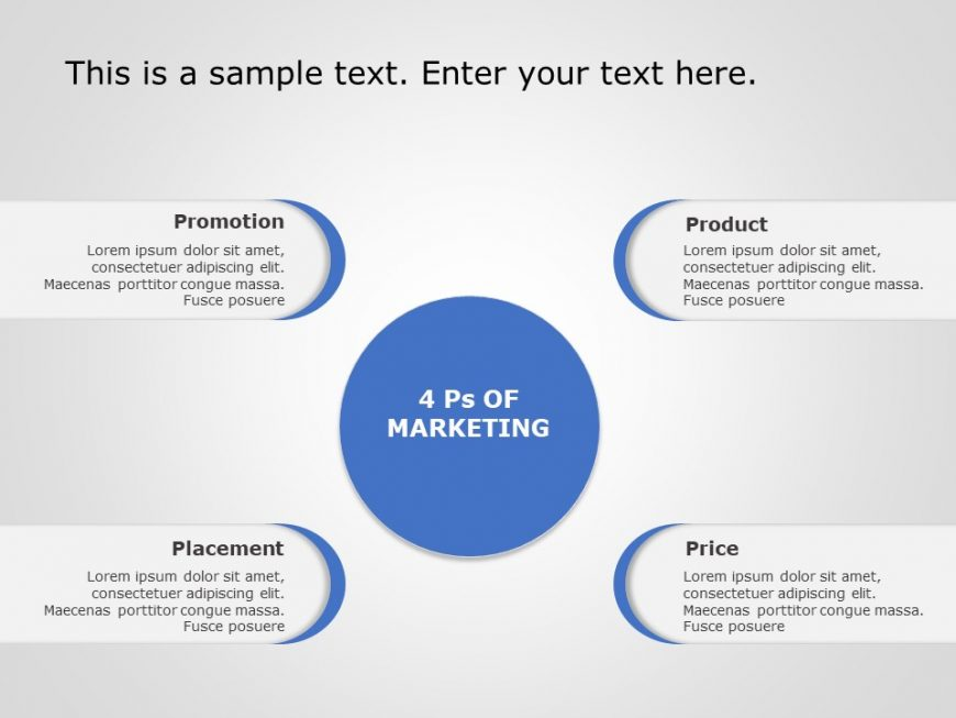 4Ps Marketing PowerPoint Template 3