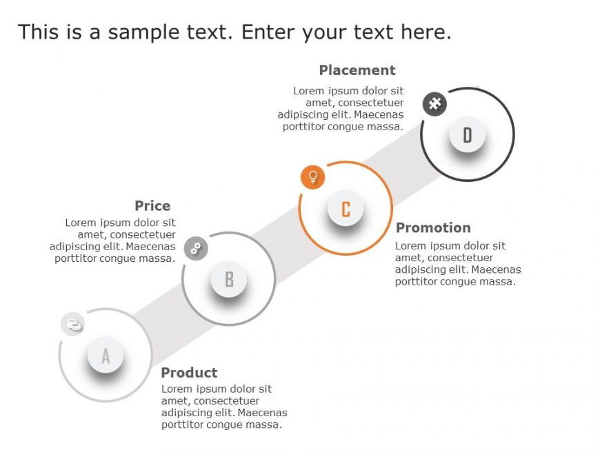 4Ps Marketing PowerPoint Template 10