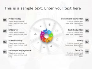 Animated 8 Step Business Process PowerPoint Template