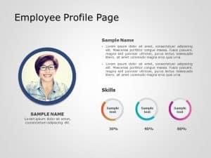 Employee Profile PowerPoint Template