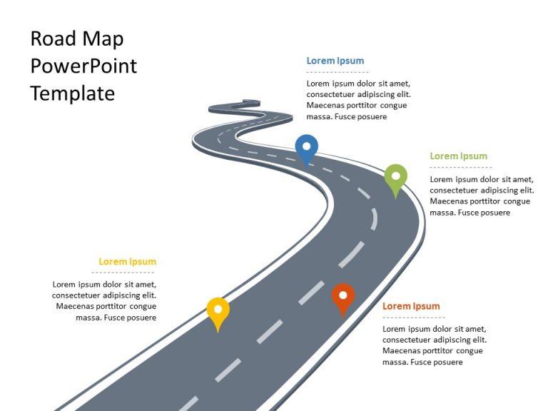 Business Roadmap PowerPoint Template 27