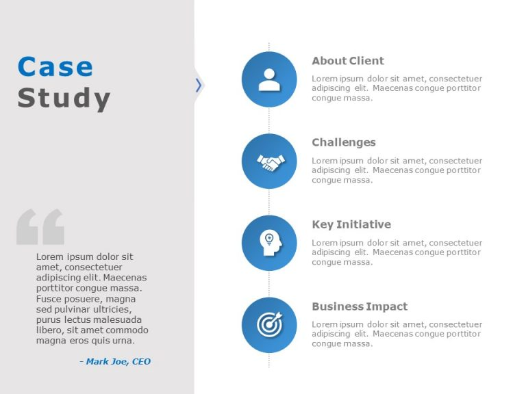 Case Study PowerPoint Template 28