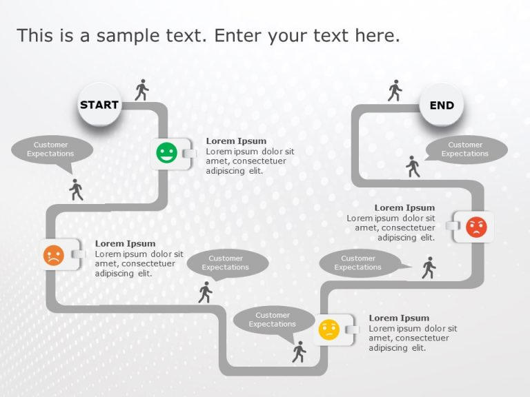 Customer Journey PowerPoint Template 2