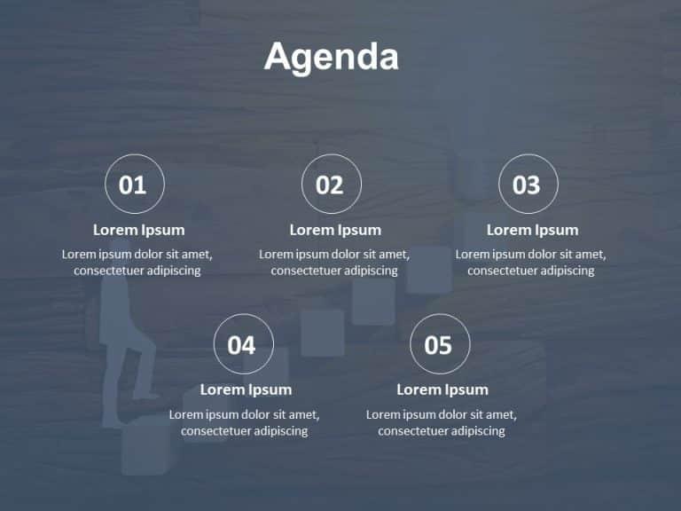Agenda PowerPoint Template 14