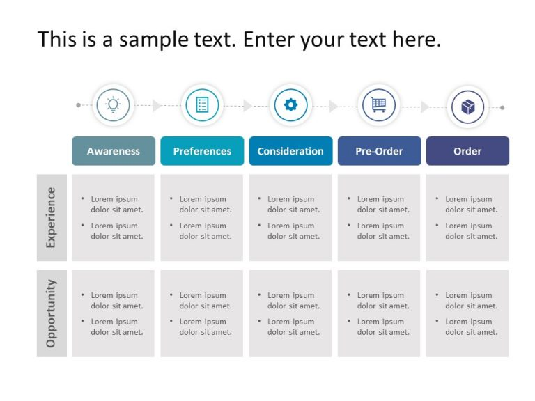 Customer Journey PowerPoint Template 5